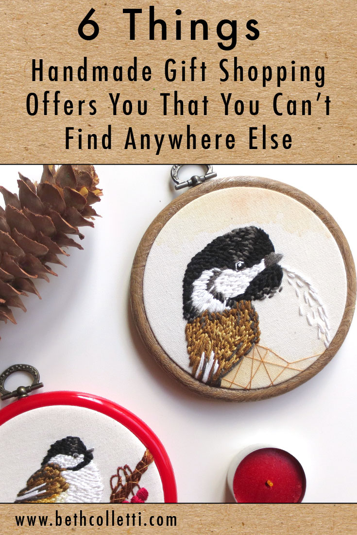 6 Things Handmade Gift Shopping Offers You That You Can't Find Anywhere Else