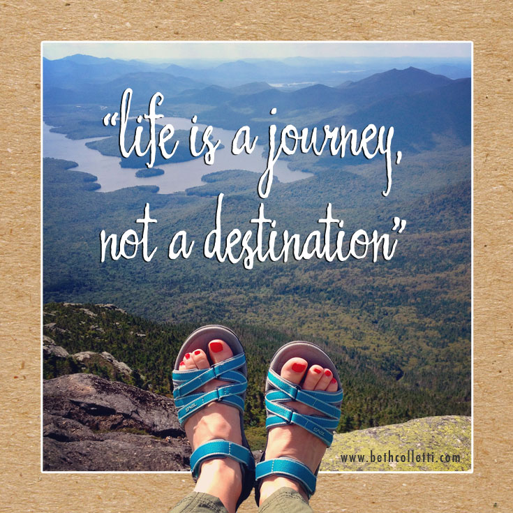 Share it: Life is a Journey, Not a Destination