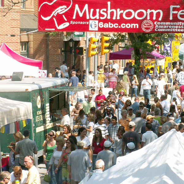 photo courtesy of the Kennett Square Mushroom Festival
