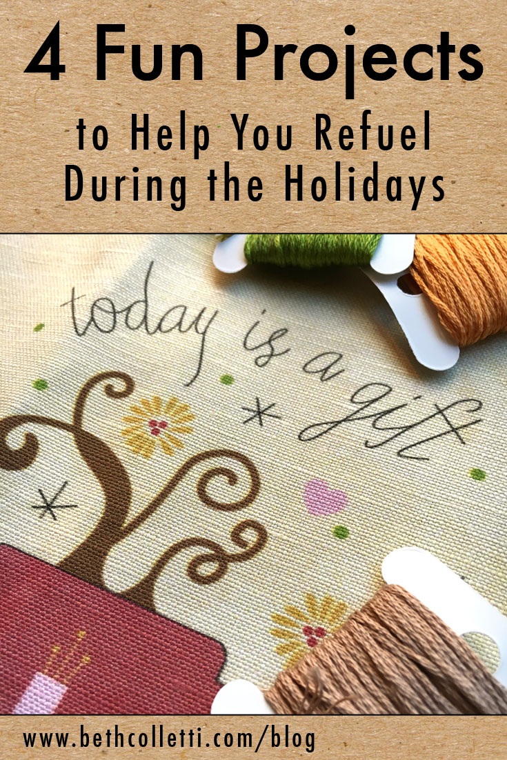 4 Fun Projects to Help You Refuel During the Holidays