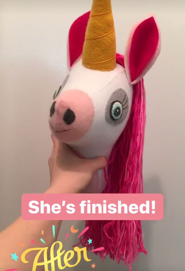 You can download the pattern for this faux taxidermy head at  Cupcake Cutie's shop .