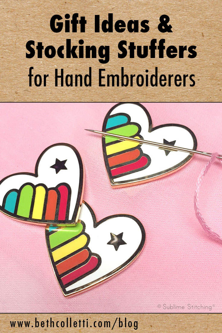 Gift Ideas & Stocking Stuffers for Hand Embroiderers