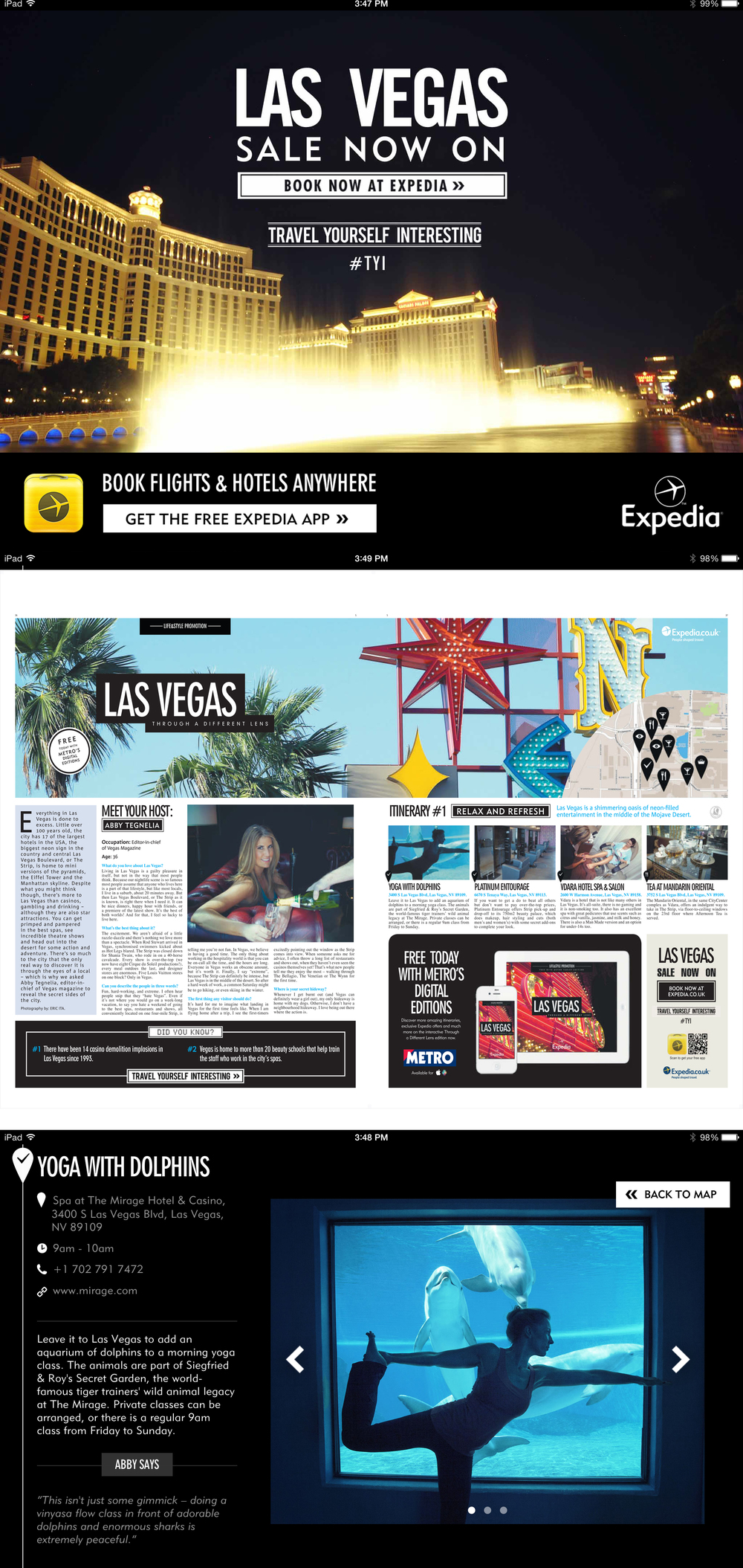 EXPEDIA LAS VEGAS PHOTO GRAPHIC DESIGN LOGO PHOTO STUDIO