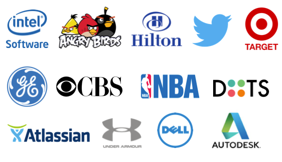 Brands I've worked for, represented or whose stories I've shared.