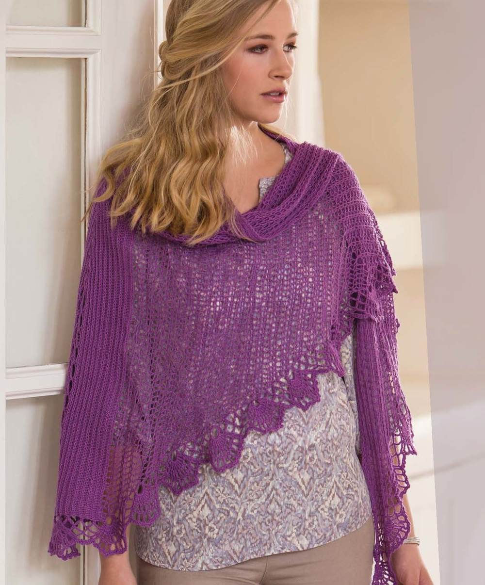 Crochet So Lovely -  Orchid Faroese Shawl beauty shot.jpg