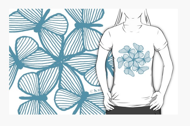 Butterfly Burst Tshirt.jpg