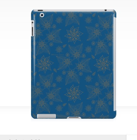 Gilded Rose iPad Case Blue.jpg