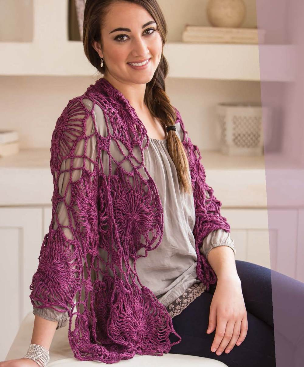 "This shawl is featured in ""Crochet So Lovely"". Click on the photo for more information."