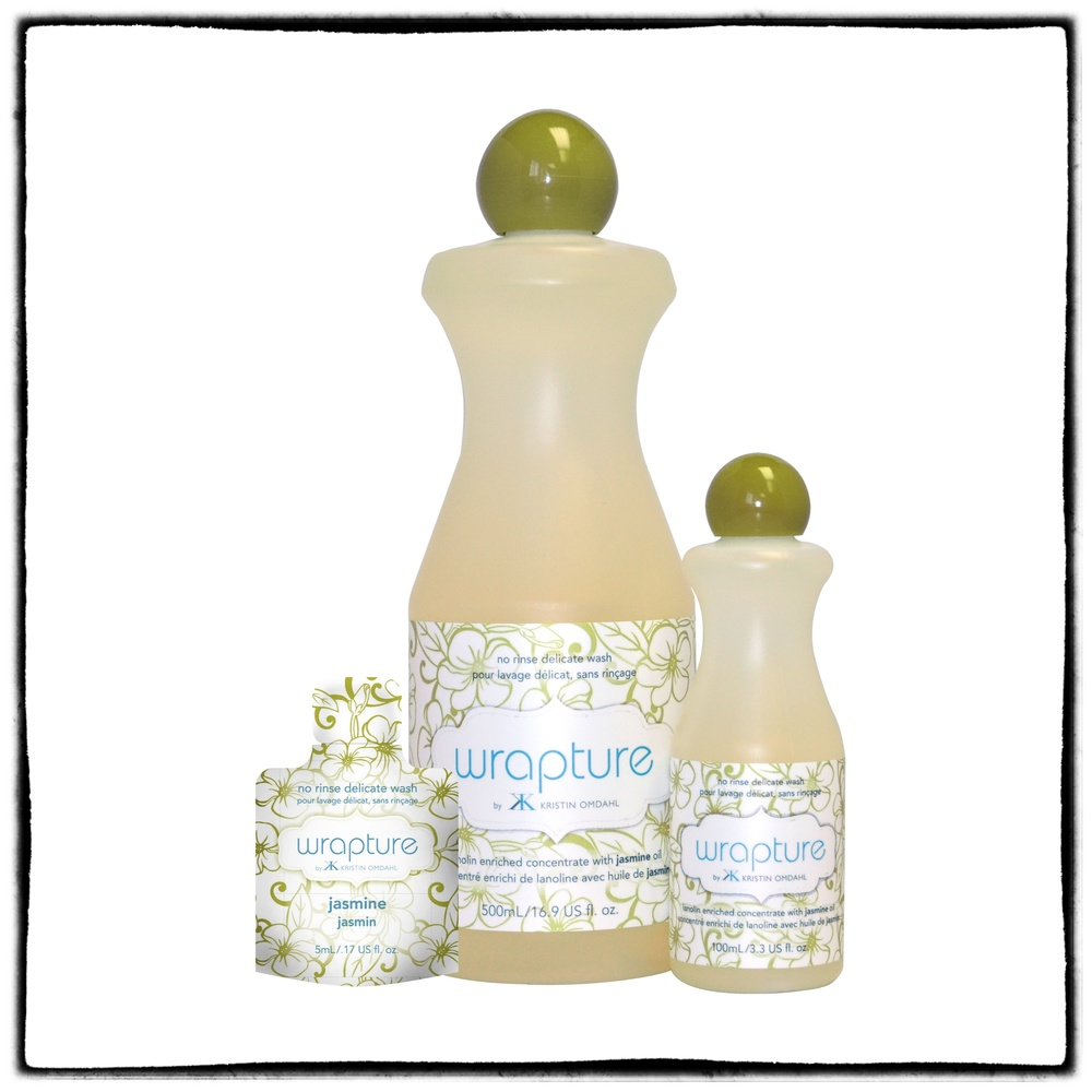 Wrapture, all natural no-rinse delicate wash