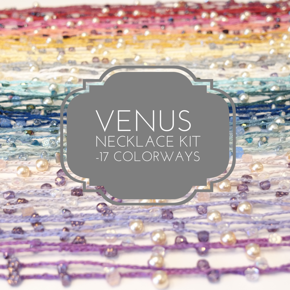Click on photo for more information about the Venus Necklace kit, including quantity discounts!