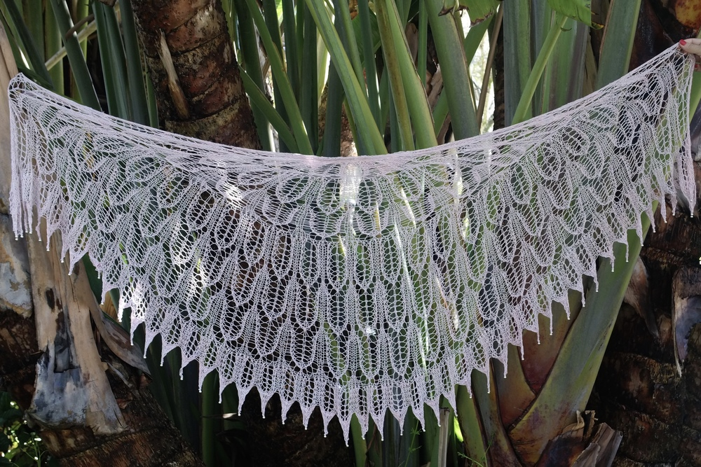 New Knitting Video and Free Pattern: Shield Maiden Shawl — Kristin ...