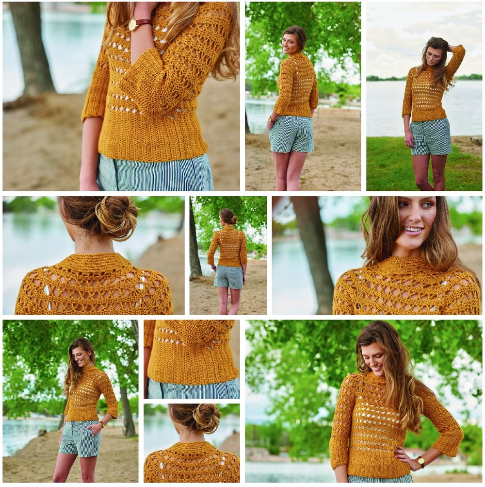 Tigress Pullover from Continuous Crochet