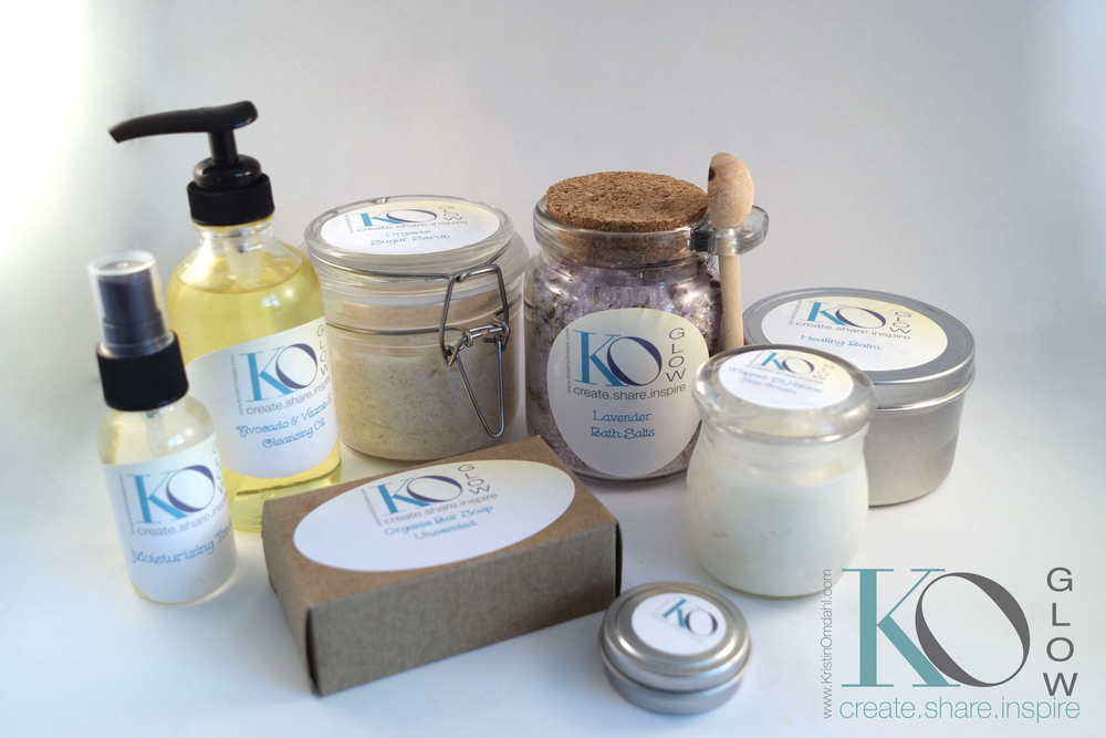 Kristin Omdahl GLOW: Enhance your inner beauty with handmade, luxury skincare.