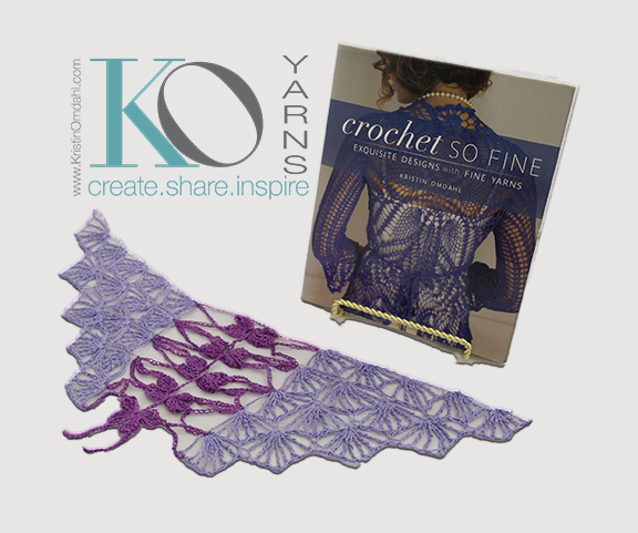 How To Crochet Dragonfly Shawl Parts 1 2 Kristin Omdahl