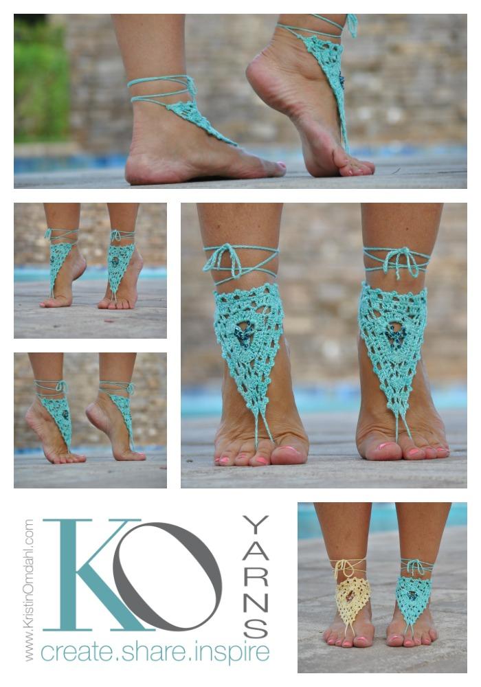 b789ee40bbd Beaded Barefoot Sandals Kit — Kristin Omdahl