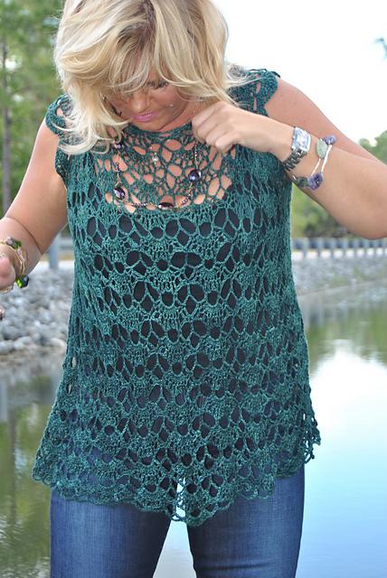 Sweet Clara Crochet Pullover Free Crochet Pattern Kristin Omdahl