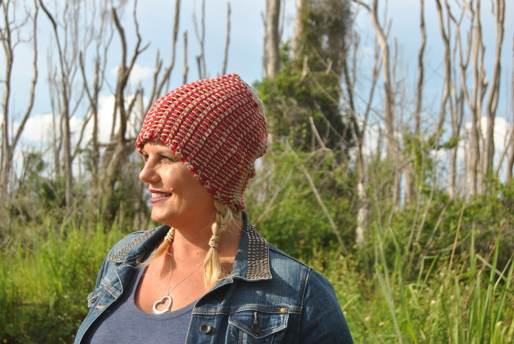 Be So Brave Tunisian Crochet Striped Hat Free Pattern Kristin Omdahl