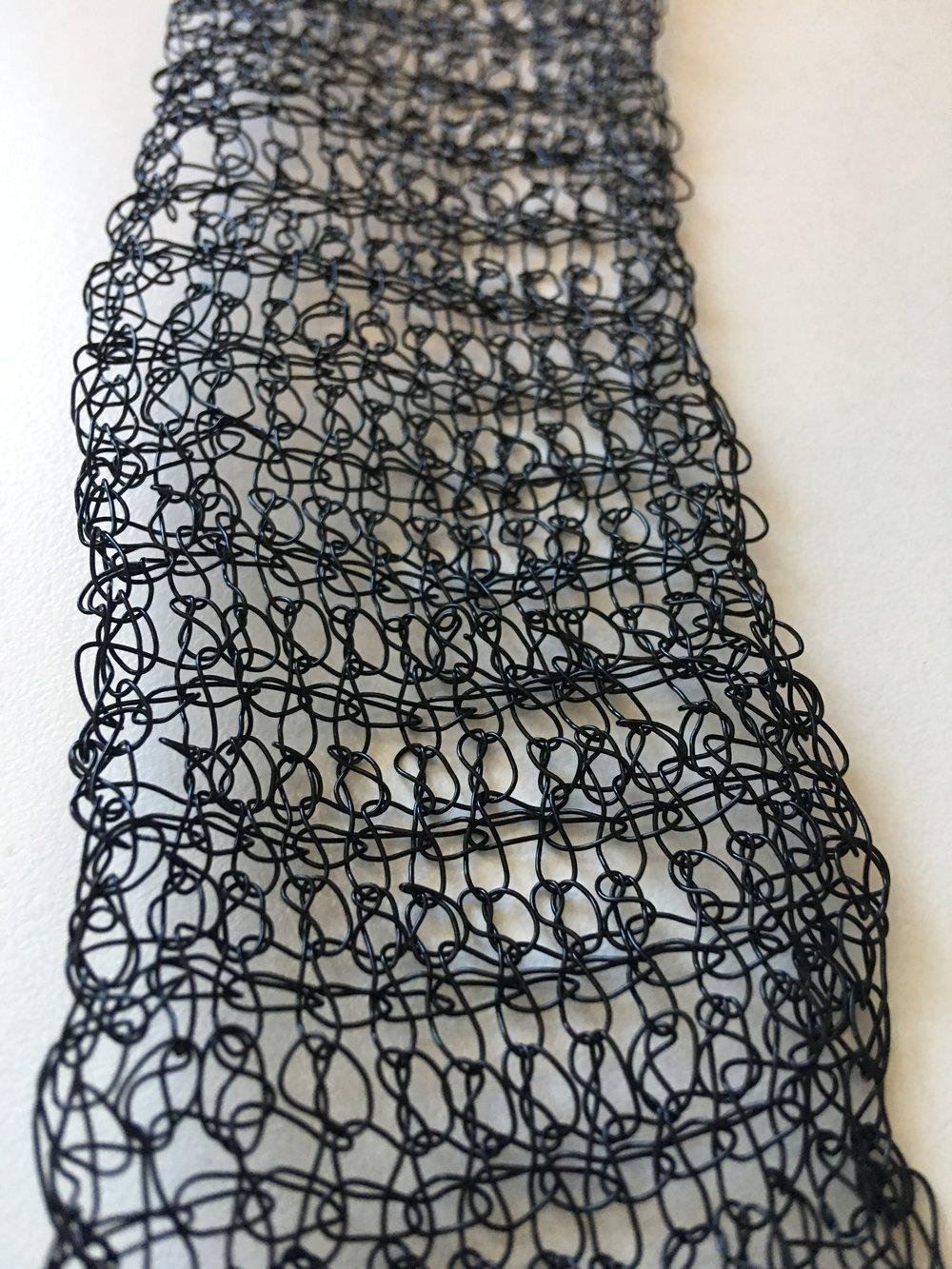 Tunisian Double Crochet Wire Cuff Bracelet FREE Pattern — Kristin Omdahl