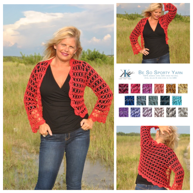 Jewel Of The Shrug Free Crochet Pattern Kristin Omdahl