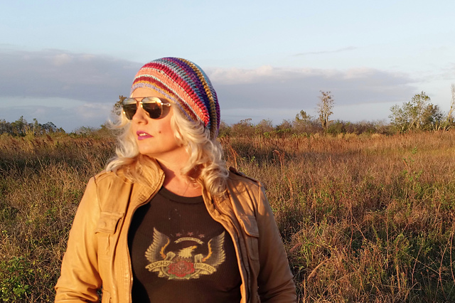 Slouchy Crochet Hat Free Pattern Kristin Omdahl