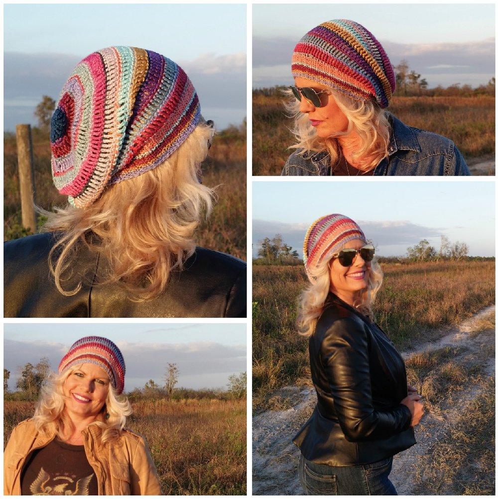 Slouchy Crochet Hat FREE Pattern — Kristin Omdahl