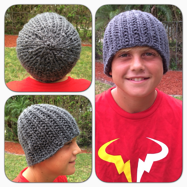Be So Brave Coaches Hat Free Knitting Pattern Kristin Omdahl