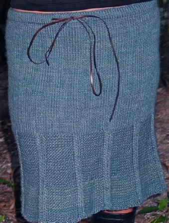 Seashell Knit Skirt Free Pattern Kristin Omdahl
