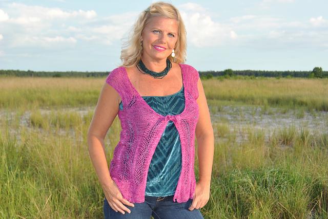 Wandering Love Knit Lace Vest Free Pattern Kristin Omdahl