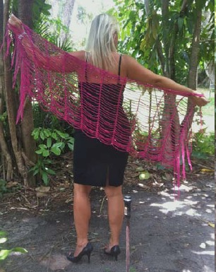 Click here for Be So Fine Yarn Dressed to the Nines Crochet Shawl FREE Pattern