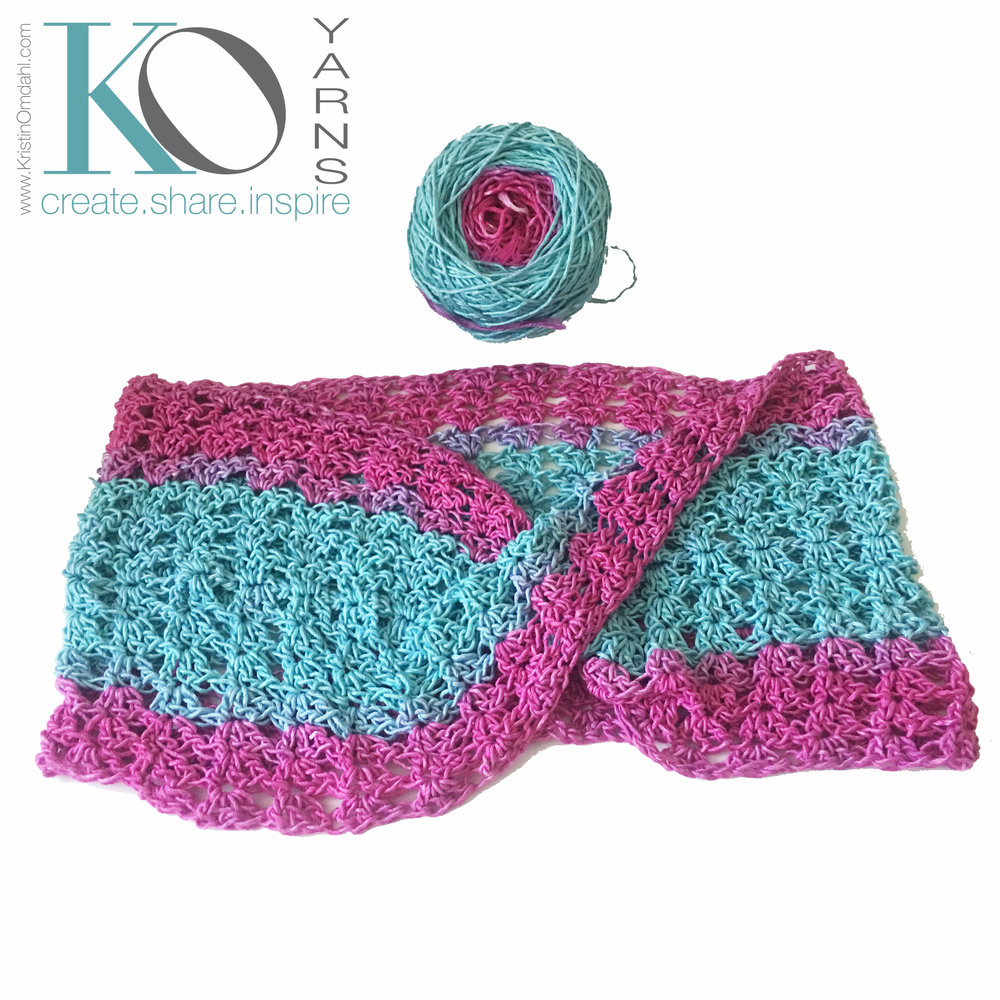 Be So Bold Crochet Mobius FREE Pattern — Kristin Omdahl