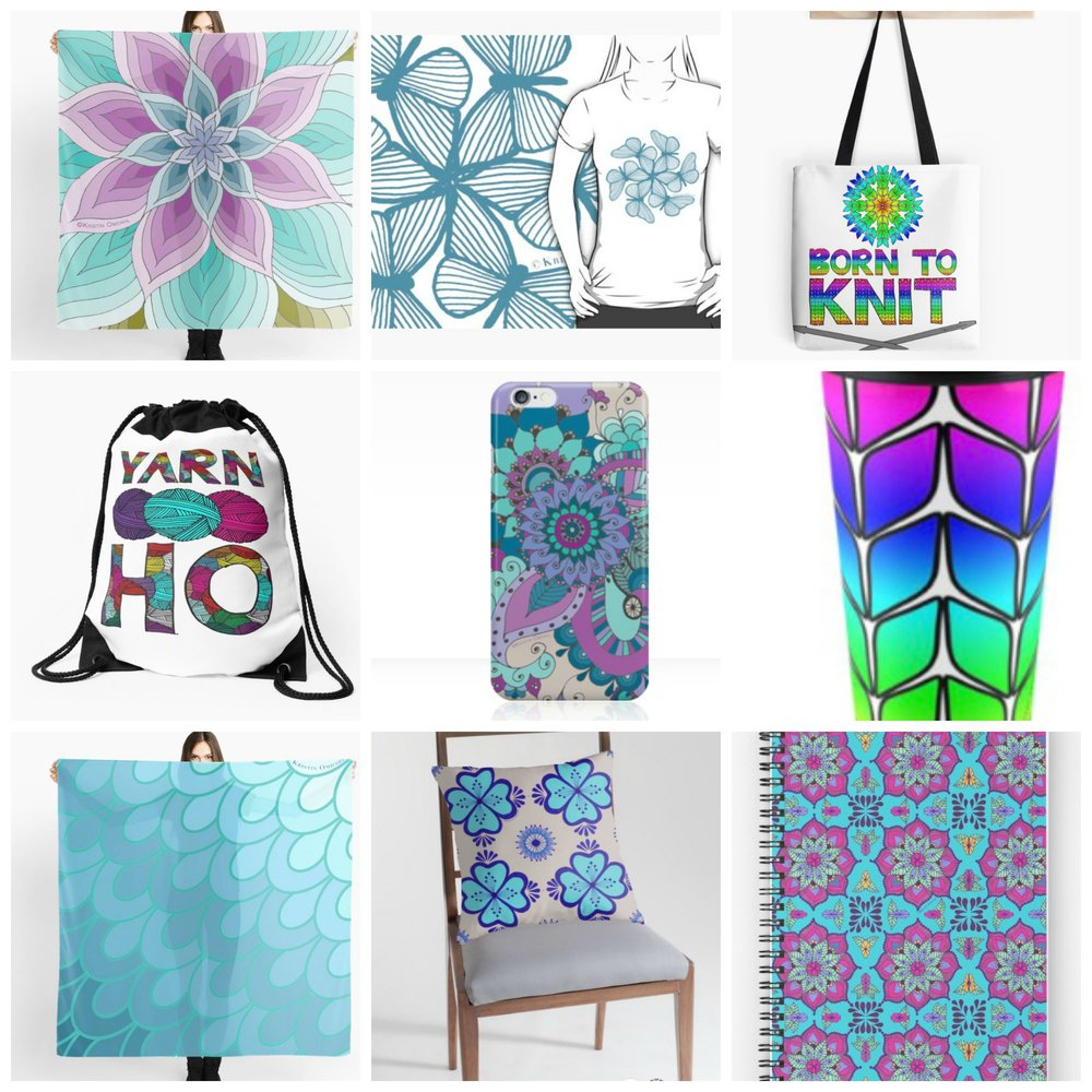 Click here to be directed to Kristin Omdahl's Redbubble Shop!