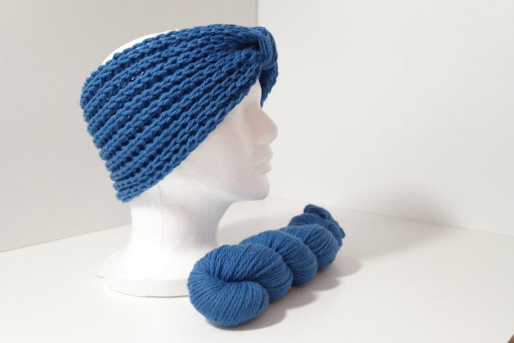 Brave Brioche Knit Headband Earwarmer FREE Pattern works for Messy ...