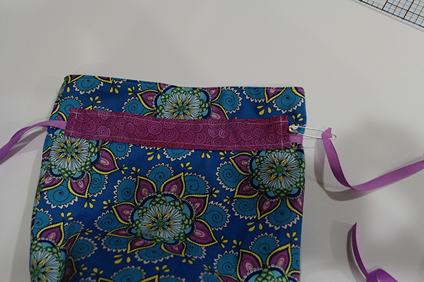 How To Sew Fully Lined Flat Bottomed Drawstring Bag Free Pattern