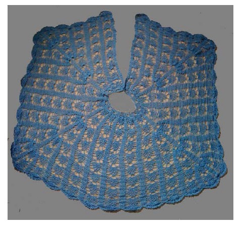 Vinga Belted Cape Be So Fine Yarn Version Free Crochet Pattern