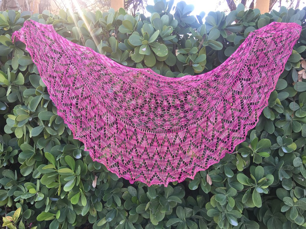Be So Fine Knit Lace Sampler Shawl Free Pattern Kristin Omdahl
