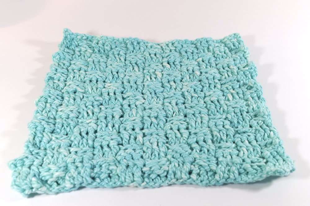 Tender Spa Washcloth Dishcloth FREE Crochet Pattern — Kristin Omdahl