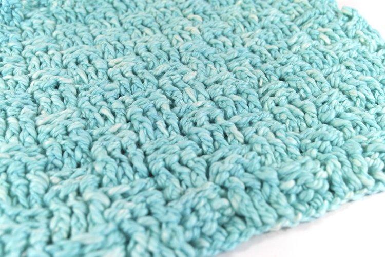 Tender Spa Washcloth Dishcloth Free Crochet Pattern Kristin Omdahl
