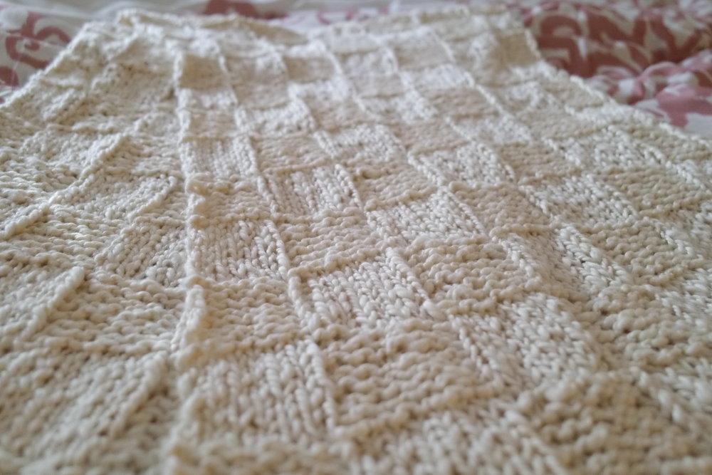 Tender Leif Basketweave Wrap With Fringe Easy Knit Free Pattern