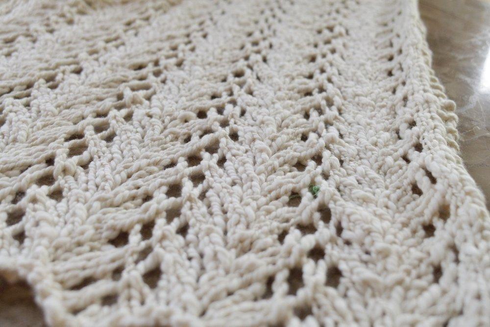 Tender Chloe Knit Lace Vest FREE Pattern — Kristin Omdahl