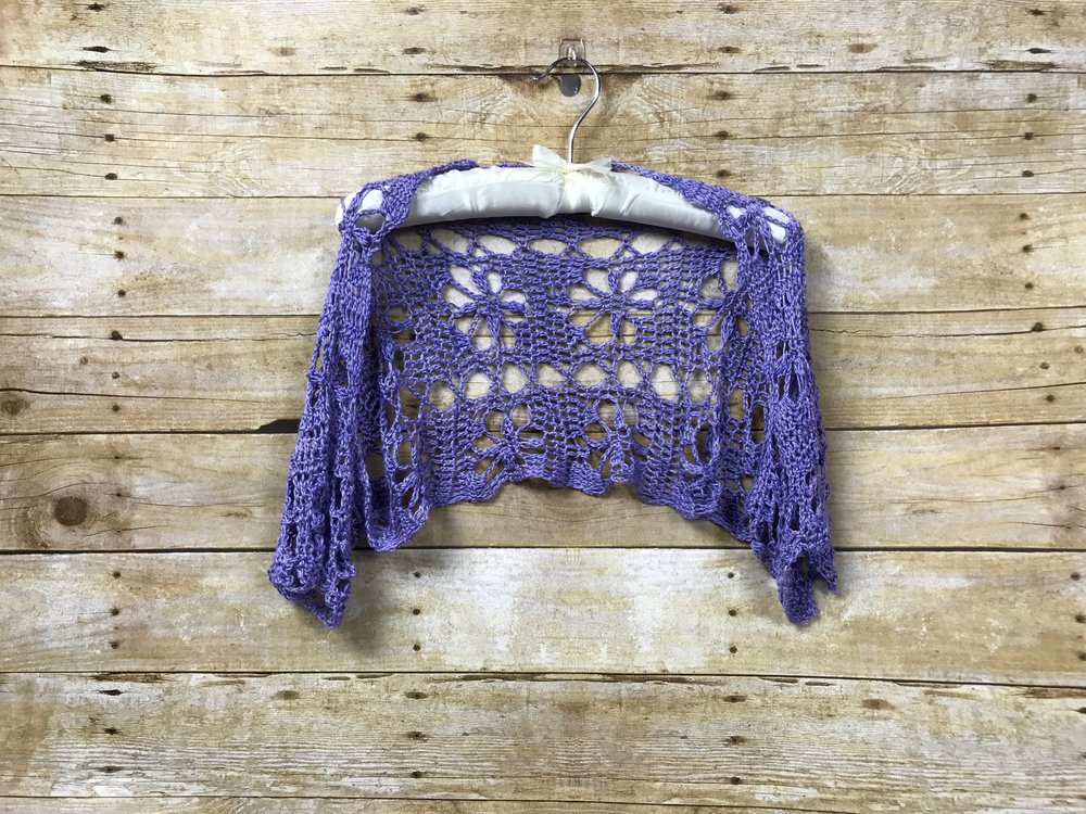 Sporty Luna Crochet Shrug Free Pattern — Kristin Omdahl