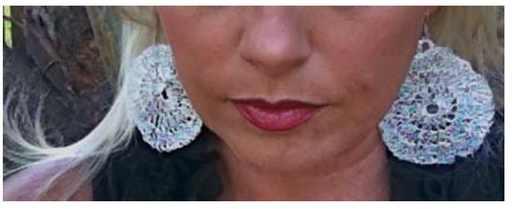 Medallion Crochet Wire Earrings Free Pattern Kristin Omdahl
