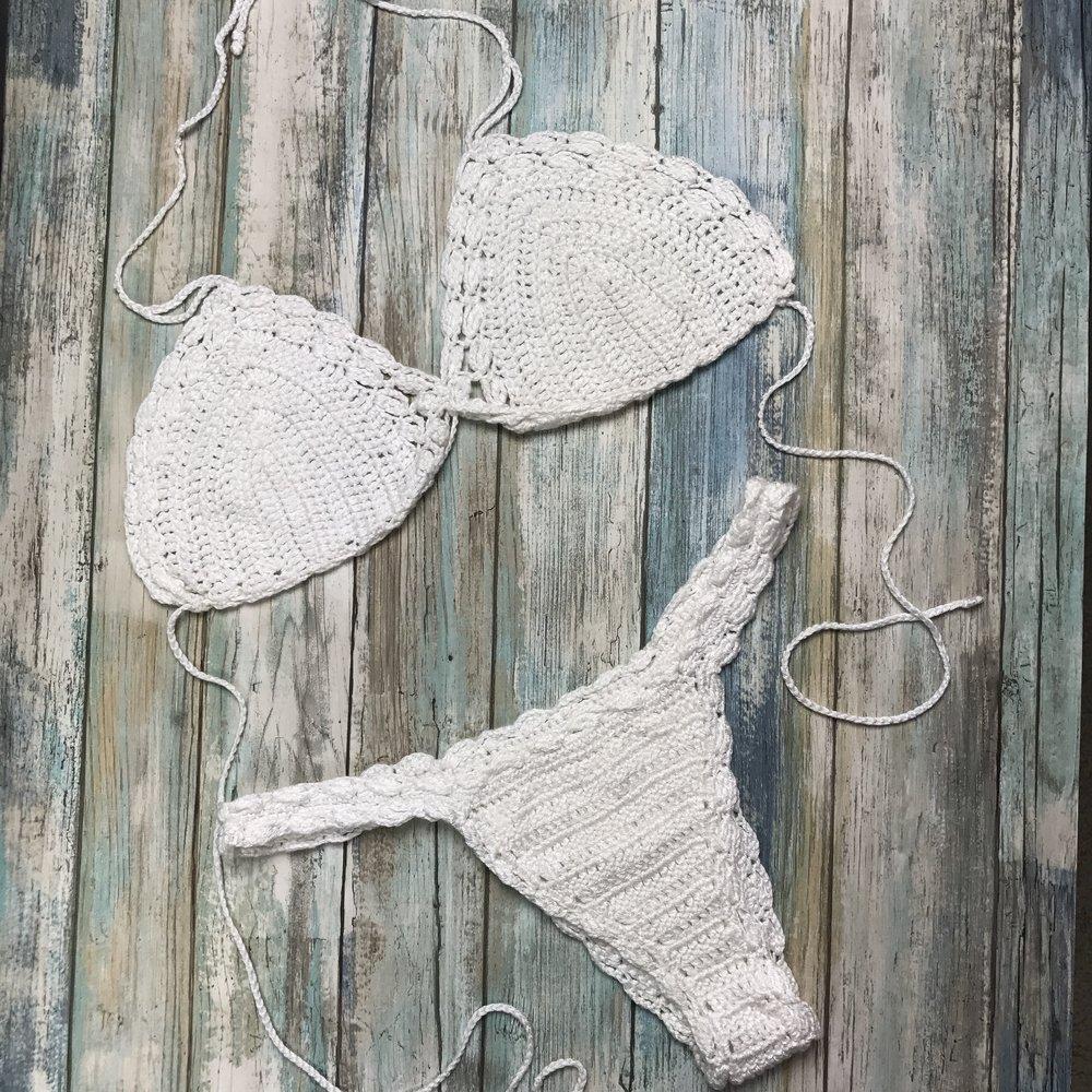 Lacey Mae Crochet Bikini Free Pattern Kristin Omdahl