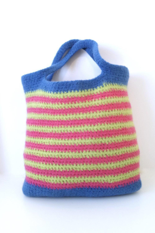 Brave Felted Tote Bag FREE Crochet Pattern — Kristin Omdahl