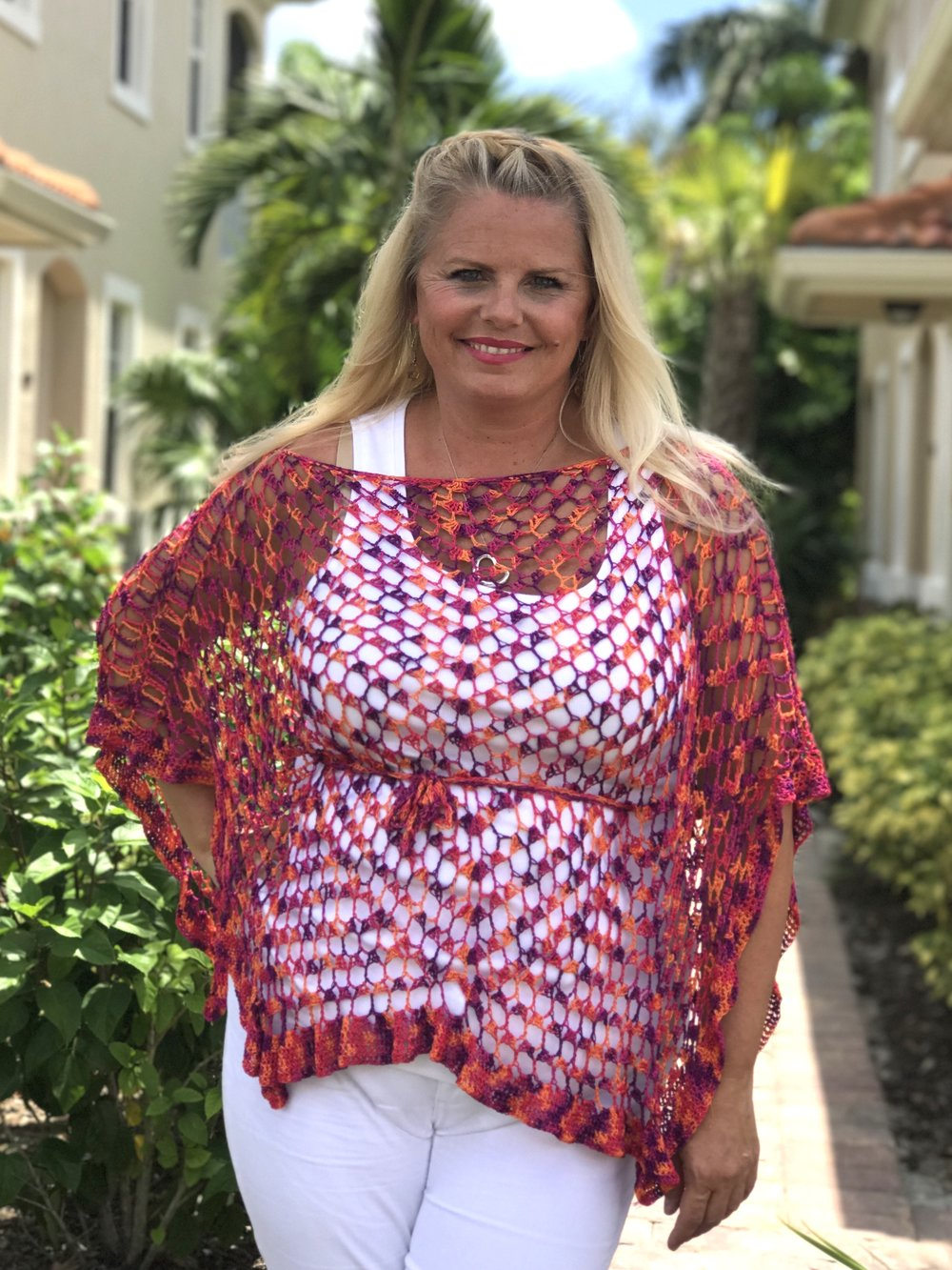Fine Celebration Crochet Poncho Free Pattern — Kristin Omdahl