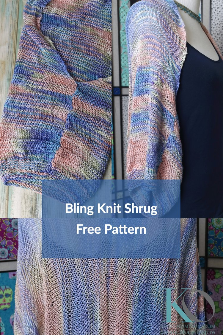 How to Make Easy & Gorgeous Knit Shrug Free Knitting Pattern ...