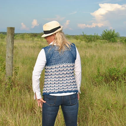 Click image for Highland Twilight Crochet Vest Pattern