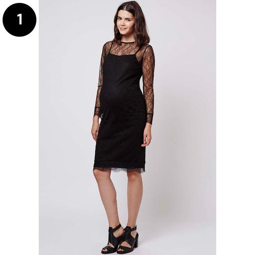 main image cape back midi dress by asos 38 - Maternity Christmas Dress