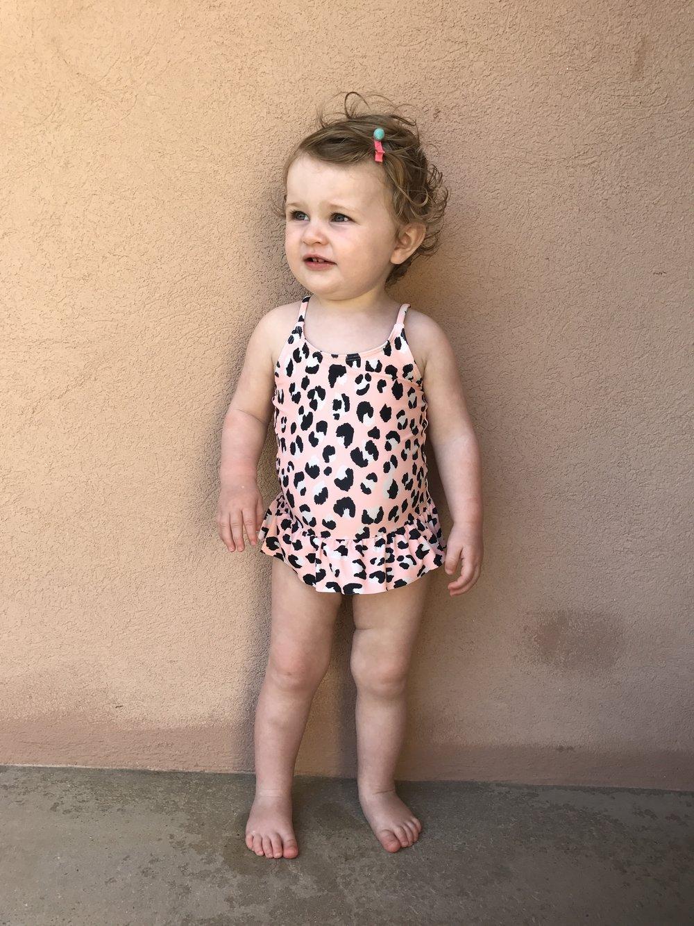 Leopard Print H&M Swimsuit