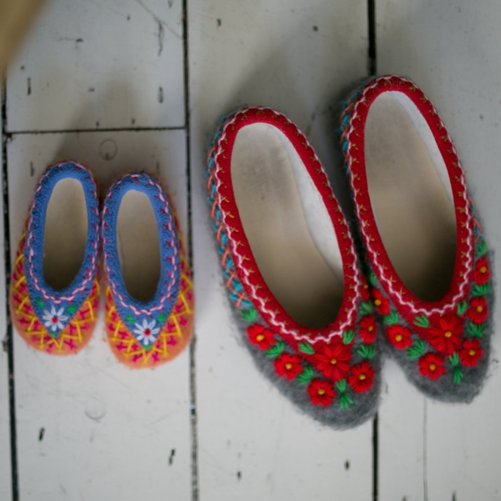Christmas Gifts: A Folk Tale Slippers — Finlay Fox
