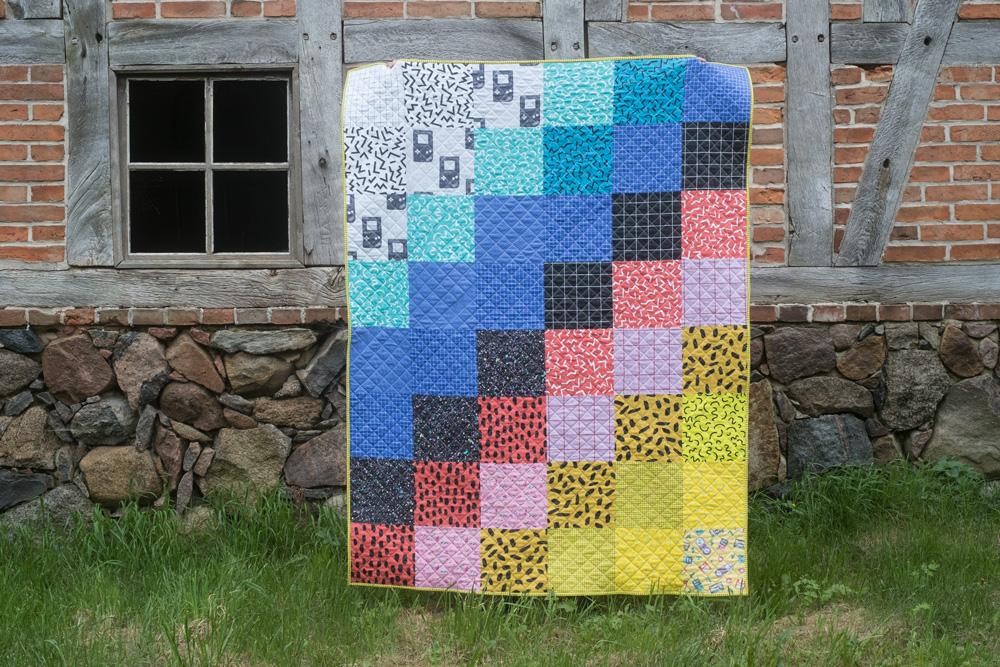 Print designs by  Jacqueline Eli . Cheater quilt: Yara Greuter